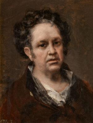 Francisco de Goya (1747-1828): Autorretrato, ca. 1816.