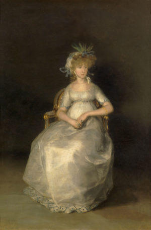 Francisco de Goya (1747-1828): La condesa de Chinchón, 1800.