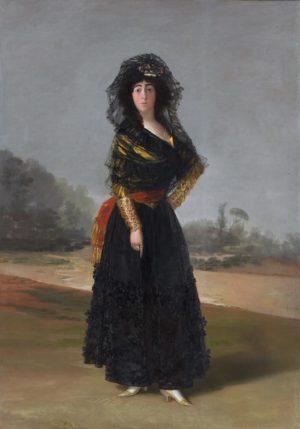 Francisco de Goya: La duquesa de Alba