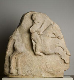 JInete. Relieve de Urso (Osuna, siglos III-II a.C)