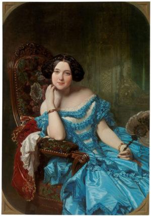 Federico de Madrazo (1815-1894): La condesa de Vilches, 1853
