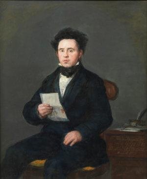 Francisco de Goya (1747-1828): Juan de Muguiro, 1827.