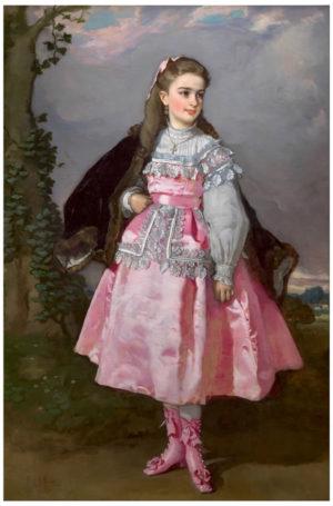 Eduardo Rosales (1836-1873): La condesa de Santovenia, 1871.