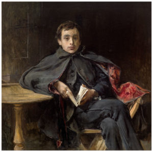 Ignacio Pinazo (1849-1916): La lección de memoria, 1898