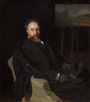 Joaquín Sorolla (1883-1927): Aureliano de Beruete, padre, 1902.