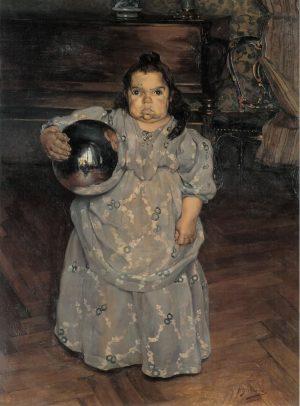 Ignacio Zuloaga: La enana de doña Mercedes, 1899