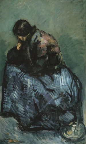 Isidro Nonell (1872-1911): Estudio de gitana, 1906.