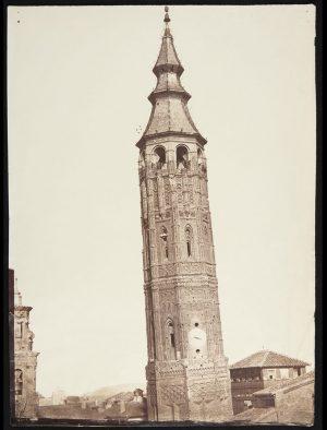 La Torre Nueva (hacia 1860). Charles Clifford