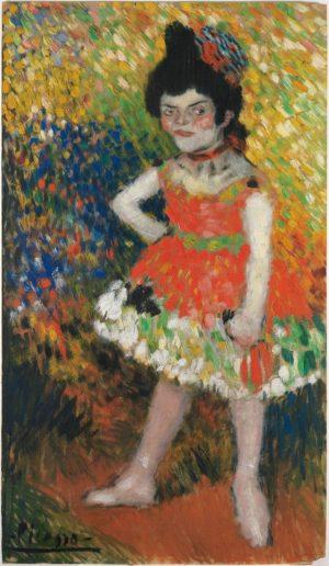 Pablo Picasso (1881-1973): La nana, 1901.