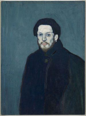 Pablo Picasso (1881-1973): Autorretrato, 1901.