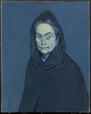 Pablo Picasso (1881-1973): La Celestina, 1904.