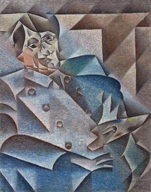 Juan Gris (1887-1927): Homenaje a Pablo Picasso, 1912.