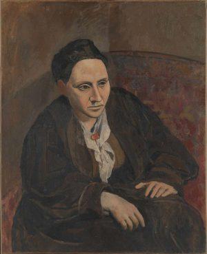 Pablo Picasso (1881-1973): Gertrude Stein, 1906.