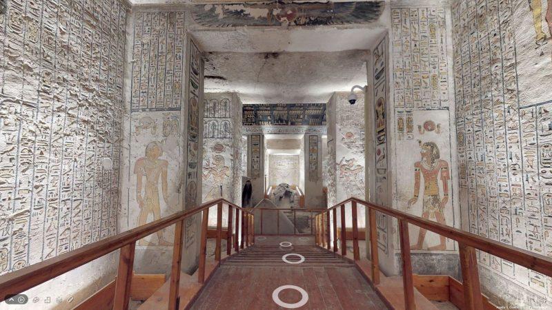 La tumba de Ramsés VI (KV9)