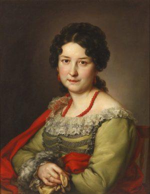 Vicente López Portaña (1772 -1850): Señora de Vargas Machuca, 1840.