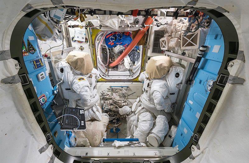 De paseo por la Estación Espacial Internacional