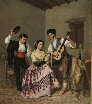 Manuel Cabral y Aguado Bejarano (1827-1891): La Copla (1850-1890).