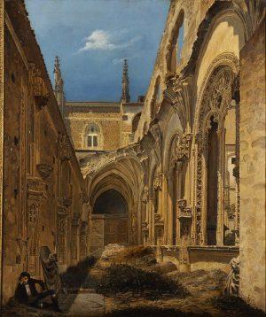 Cecilio Pizarro (1825-1886): Ruinas de San Juan de los Reyes de Toledo, 1846.