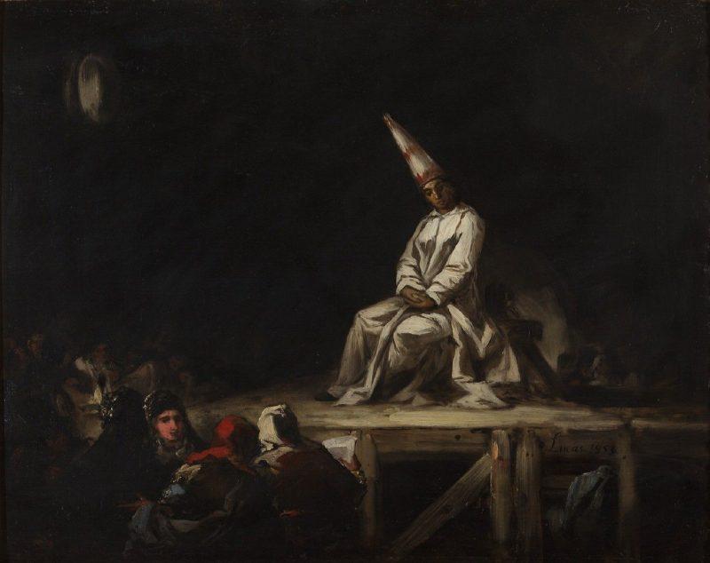 Eugenio Lucas Velázquez (1817-1870): Auto de Fe, 1853.
