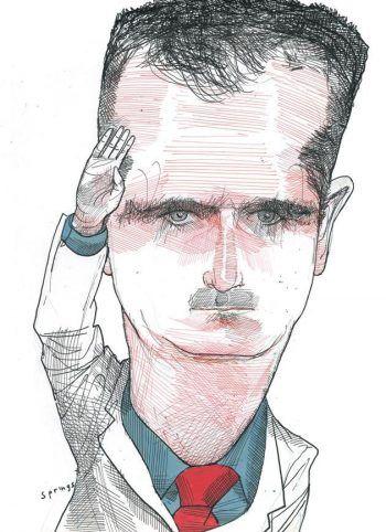 Bashar al-Assad by John Springs