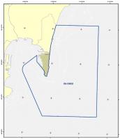 Figura 2. Zona de Especial Conservación en las aguas que rodean el Peñón de Gibraltar.