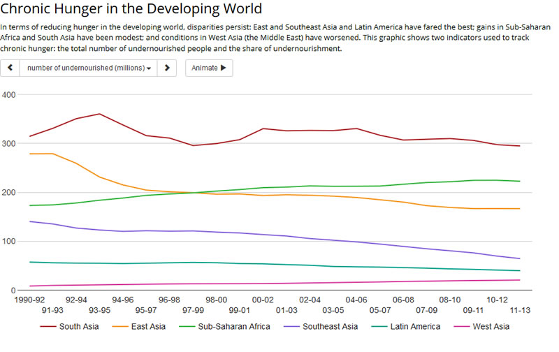 Chronic Hunger in the Developing World