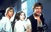 They're coming back... Mark Hamill, Carrie Fisher and Harrison Ford are among the cast of Star Wars Episode 7 Photo: Lucas Films