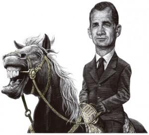 El relincho del caballo del Rey Patriota