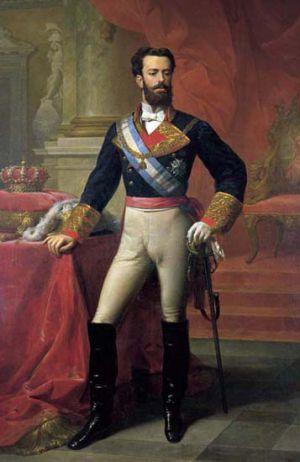 Amadeo de Saboya, retratado por Carlos Luis de Ribera y Fieve
