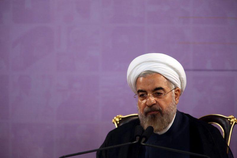 Iranian President Hassan Rouhani speaks during a press conference in Tehran, Iran, Saturday, June 14, 2014. (Vahid Salemi/AP)