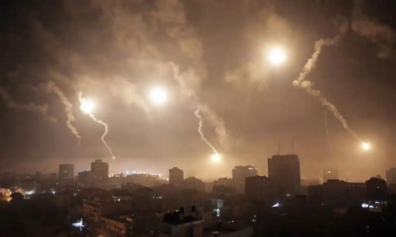 'It is difficult to comprehend how the international community seems unable to halt what is an apocalypse for Gaza's citizens.' Photograph: Khalil Hamra/AP Photograph: Khalil Hamra/AP