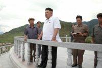North Korean leader Kim Jong Un. (Kcna/Reuters)
