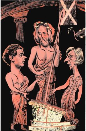 Carta de Néstor, rey de Pilos, a Rosa Díez