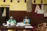 Nurses at Kenema Hospital in Sierra Leone in August. Credit Samuel Aranda for The New York Times