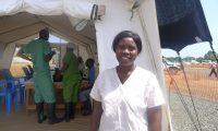 Salomé Karwah now cares for victims of Ebola. Photograph: Médecins sans Frontières