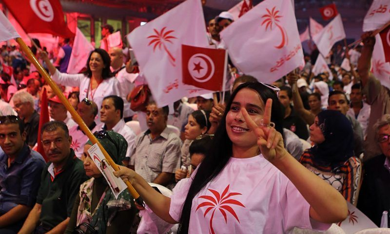 'With no sectarian, ethnic, religious or tribal divides, political and ideological differences do not turn into societal divisions in Tunisia as they do in Iraq, Syria or Lebanon.' Photograph: Mohamed Messara/EPA