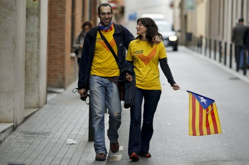 Support for a split. Photographer: Pau Barrena/Bloomberg