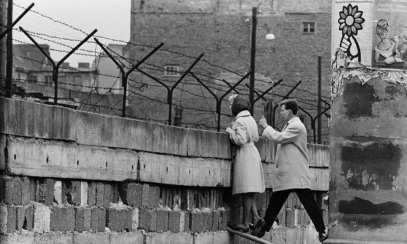 'The reconstruction of Germany after the second world war was only possible with international help. This begets responsibility.' Photograph: Bettmann/Corbis