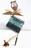 Novela, música y poesía