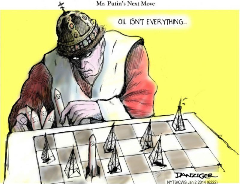 La racha de éxitos diplomáticos de Putin