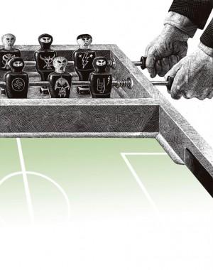 La violencia en el fútbol