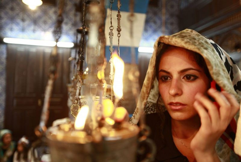 A Jewish worshipper prays during a pilgrimage to the El Ghriba synagogue, Africa's oldest one, in Djerba April 28, 2013. REUTERS/Anis Mili