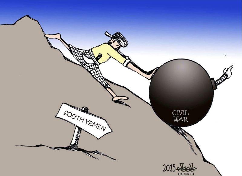 Another civil war in Yemen