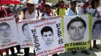 Parents and relatives of the 43 students from Ayotzinapa participate in a protest in Acapulco on March 24.