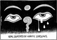 Death and destruction in Nepal