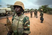 The average monthly pay of Burundian soldiers serving as peacekeepers in Somalia soared from about $20 to $750. Credit Abdi Dakan/AU-UN IST, via Agence France-Presse