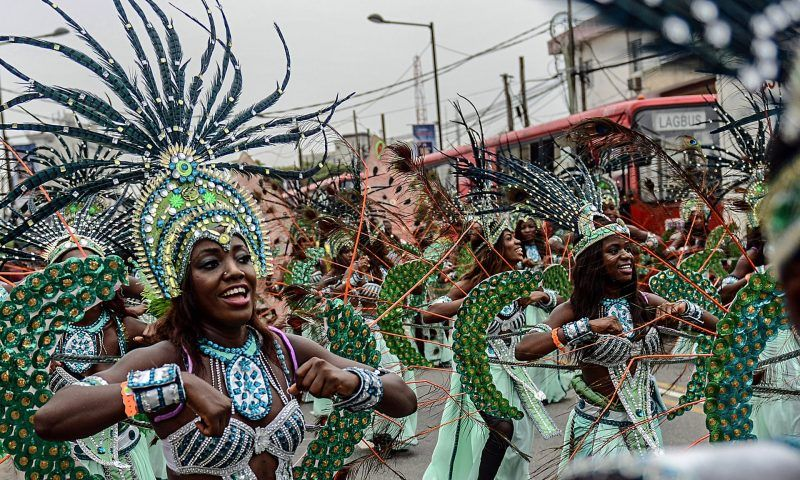 Traditional Nigerian dances have been joined by new music and attitudes. Photograph: Getty Images