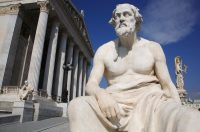 Statue of the Greek philosopher Thucydides Credit Getty Images