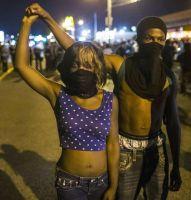 Le 11 août 2015 à Ferguson dans le Missouri. LUCAS JACKSON / REUTERS