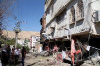 The aftermath of clashes in Silvan, near Diyarbakir. Reuters/Sertac Kayar